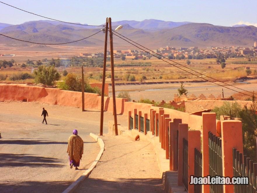 Rua em Ouarzazate