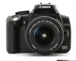 CANON EOS 350D Digital 8 Megapixels