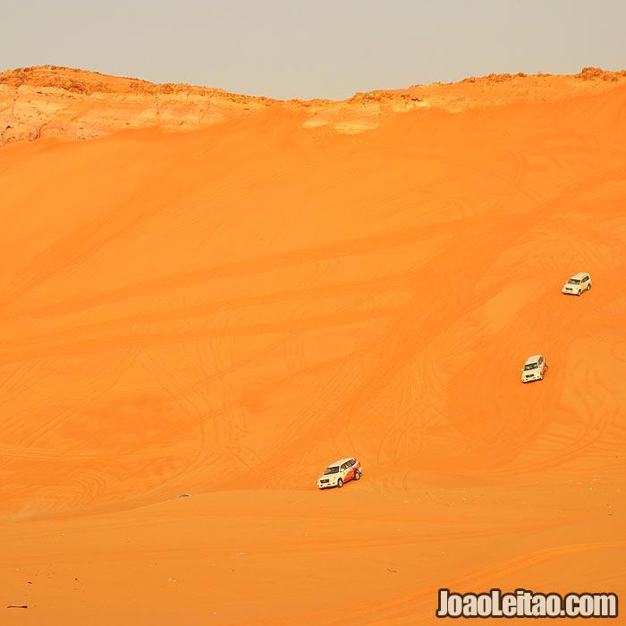 Duna Big Red no Dubai