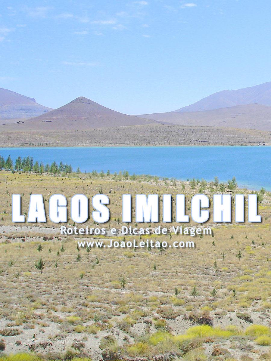 Lagos de Imilchil nas Montanhas do Alto Atlas