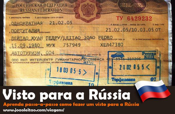 Visto para a Rússia