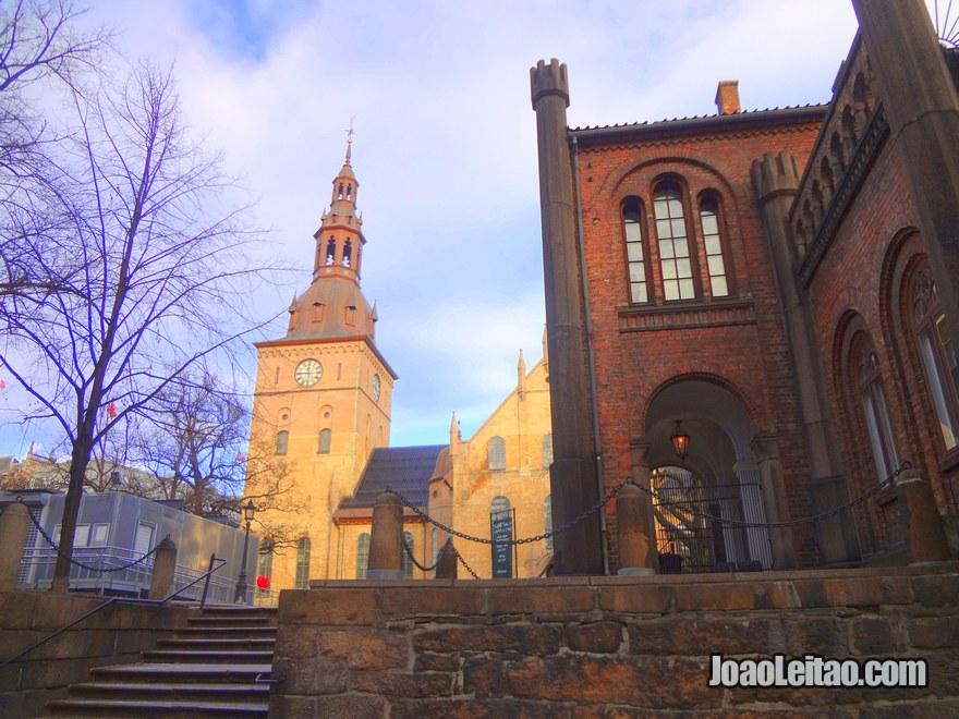 Foto da Catedral de Oslo