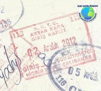 Stamp Northern Cyprus (red)