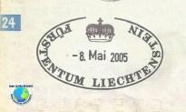 Stamp Liechtenstein