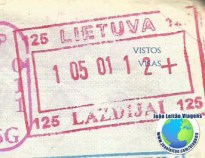 Stamp Lithuania