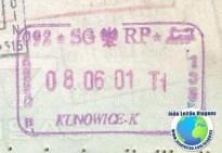Stamp Poland (train)
