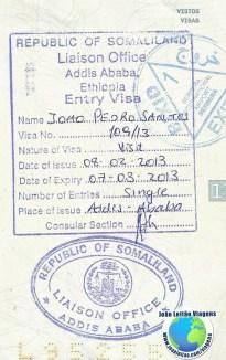 Visa Somaliland (embassy in Addis Ababa)