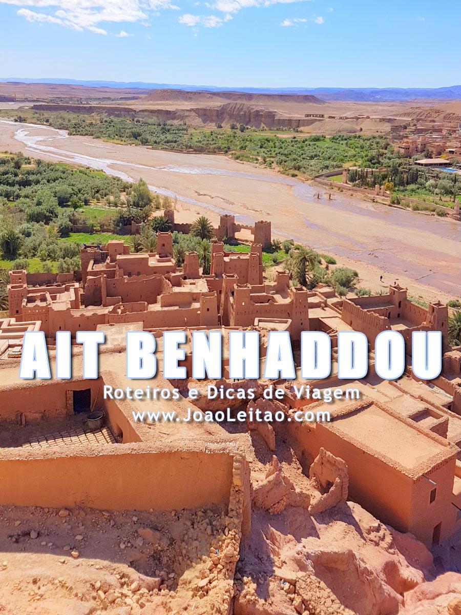 Ksar de Ait Benhaddou em Ouarzazate