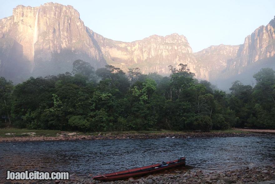 Salto Ángel, a cascata mais alta do mundo, Visitar a Venezuela