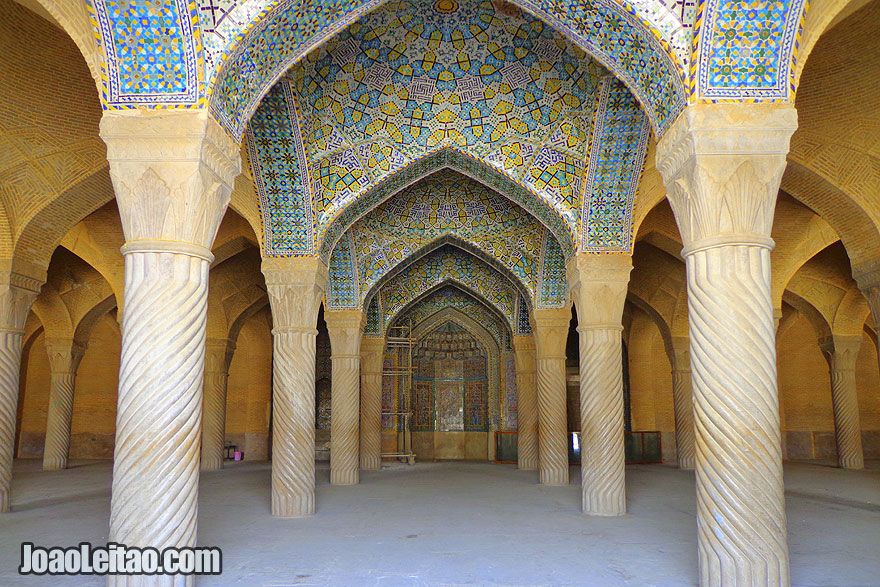 Mesquita Vakil em Shiraz