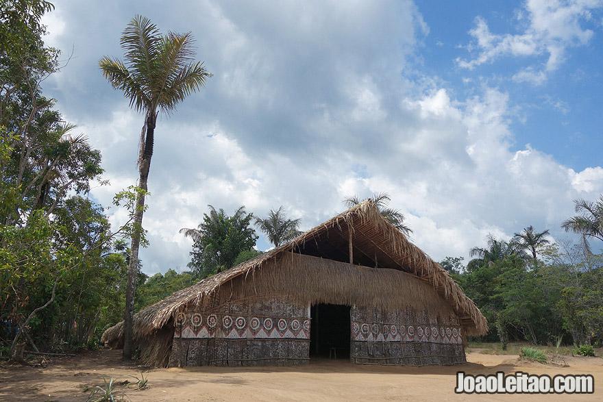 Casa Indigena no Amazonas