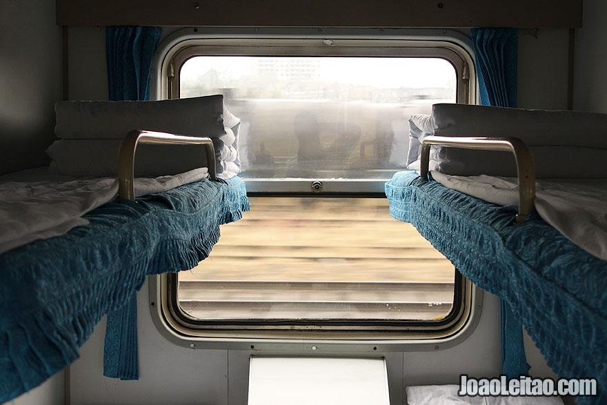 Comboio de Pyongyang para Pequim