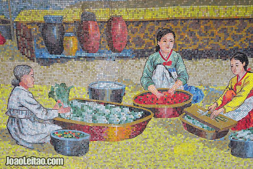 Museu do folclore da cidade de Sariwon