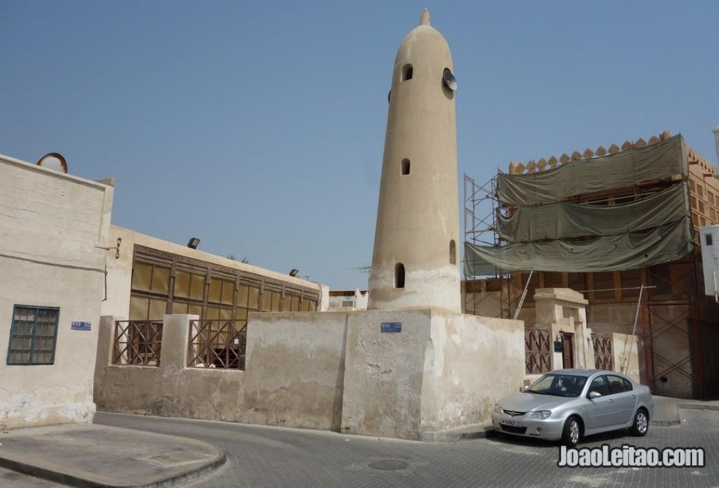 Mesquita e casa da Família Siyadi