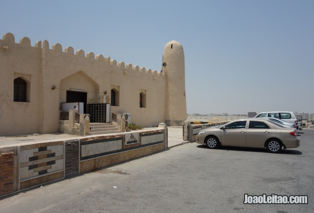 Mesquita do Forte de Riffa no Barém