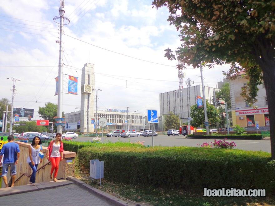 Centro da cidade de Bishkek
