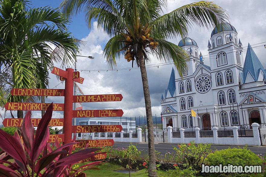 Visit Apia Samoa