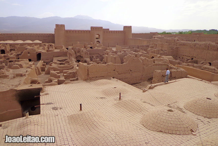Citadel Arg Rayen in Rayen - Places to Visit in Iran