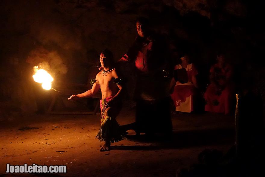 Visit a Fire Dance Show Tonga