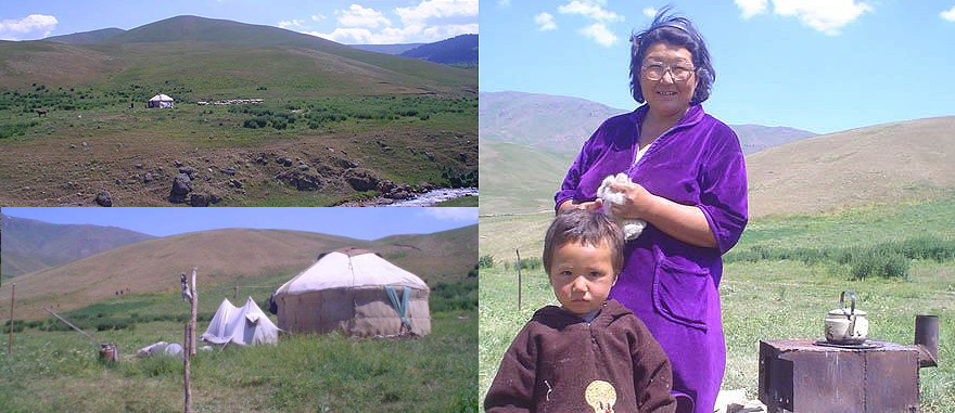 Being Invited to stay with a nomad Kazakh Family