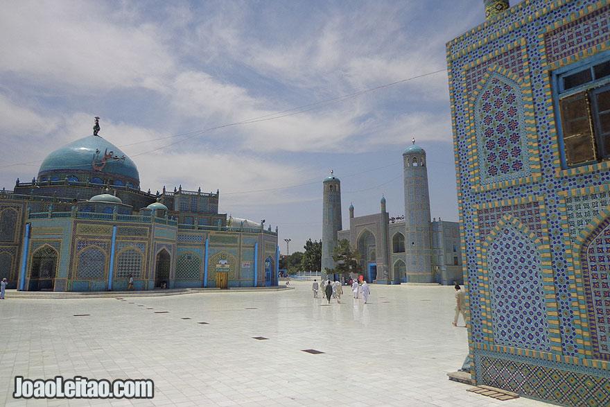 Visit Mazar-i-Sharif Afghanistan