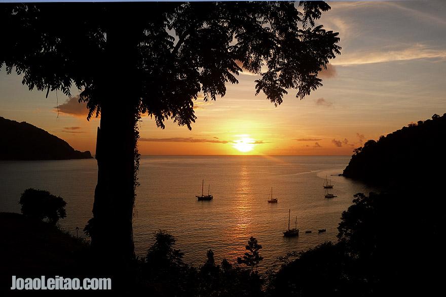 Visit Pirate's Bay, Trinidad and Tobago