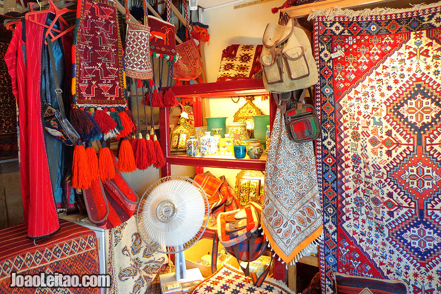 Souvenir Shops - What to buy in Iran