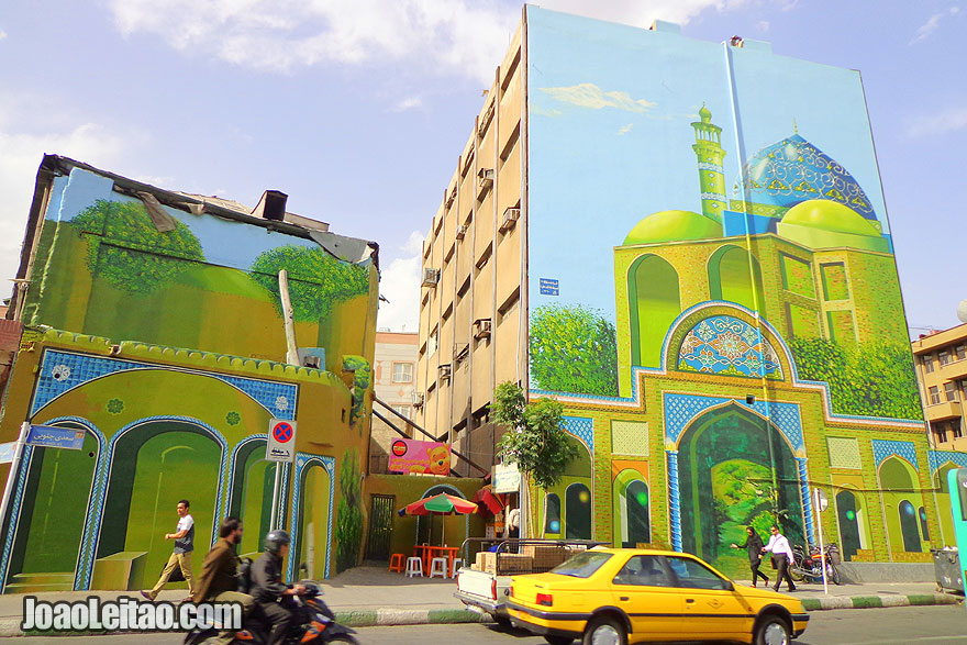 Wall Art - What to see in Iran