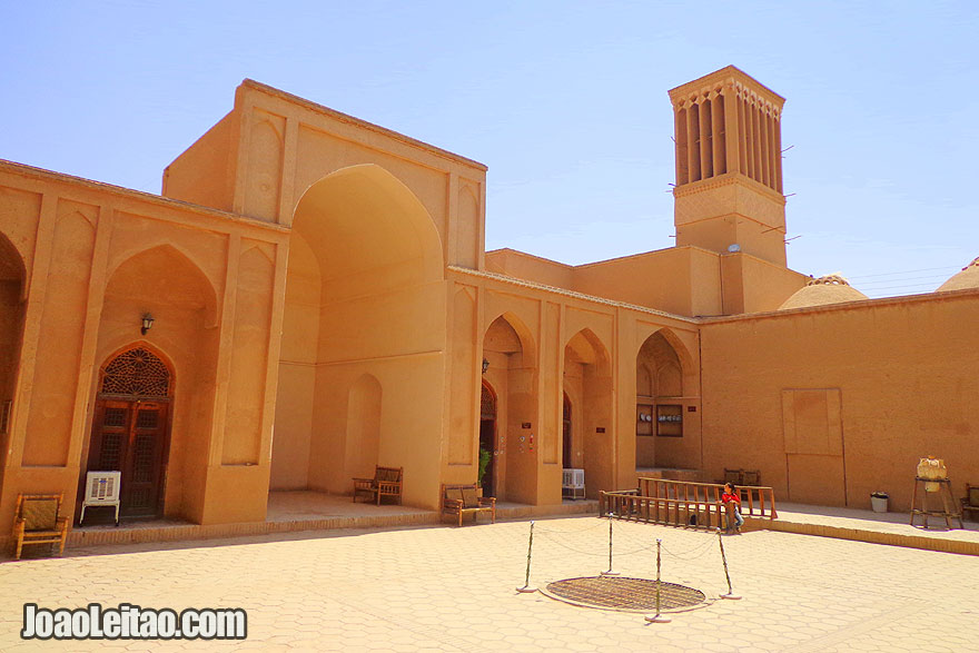 Ziai Ye School in Yazd - Monuments and Sightseeing in Iran
