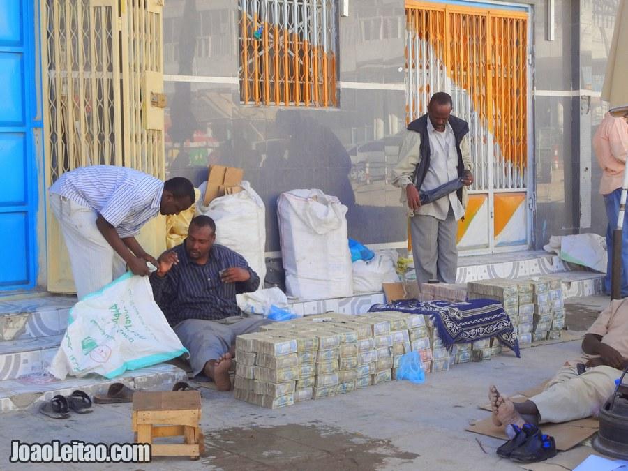 Exchange Money in Hargeisa Somaliland
