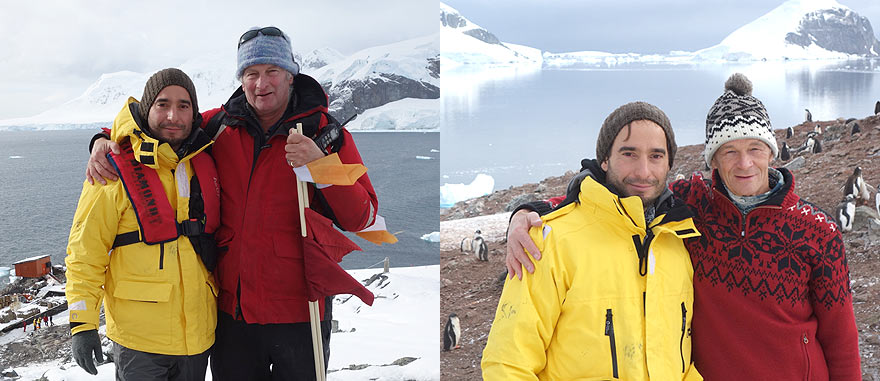 Exploring Antarctica with Shackleton and Scott