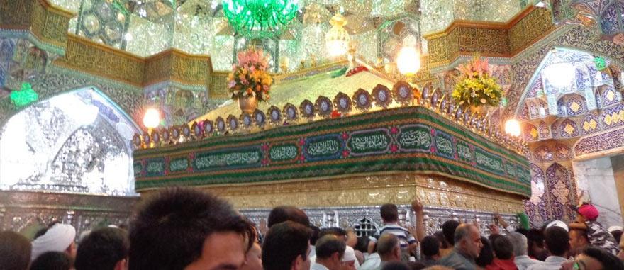 Visita ao Santuário de Fatima Masumeh em Qom, no Irão