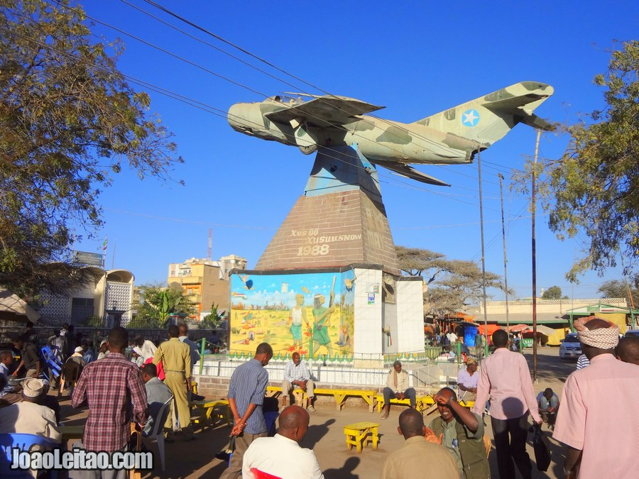MIG War Monument in Hargeisa Somaliland