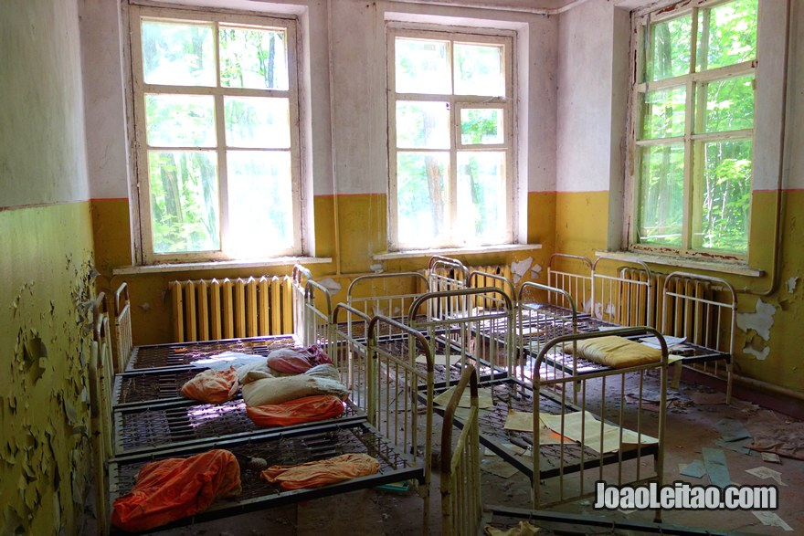 Abandoned School in Kopachi Village - Chernobyl Tour