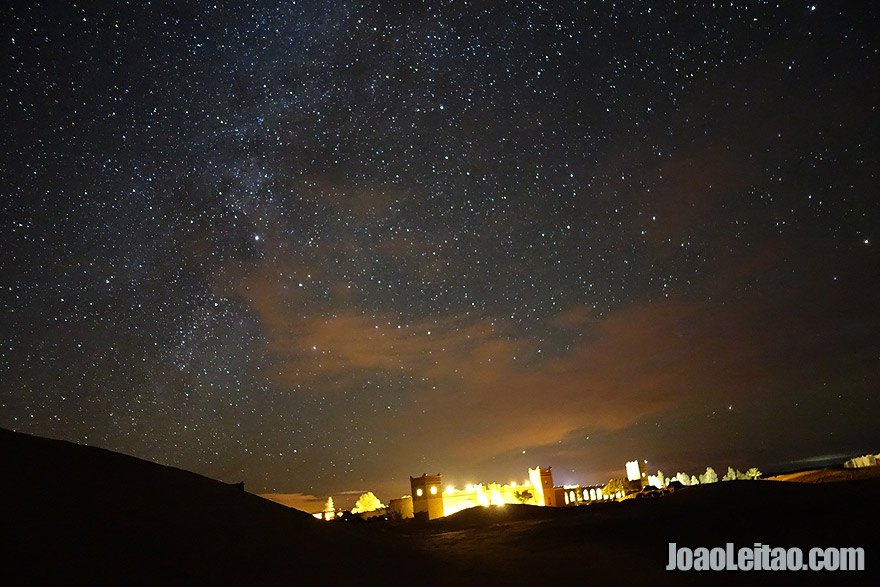 Stargazing Moroccan Desert