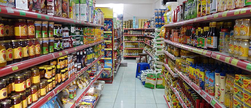 É assim um supermercado nas Galápagos