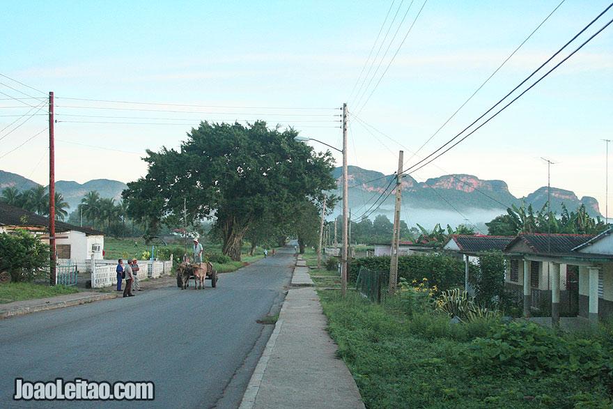 Cuban Countryside Village