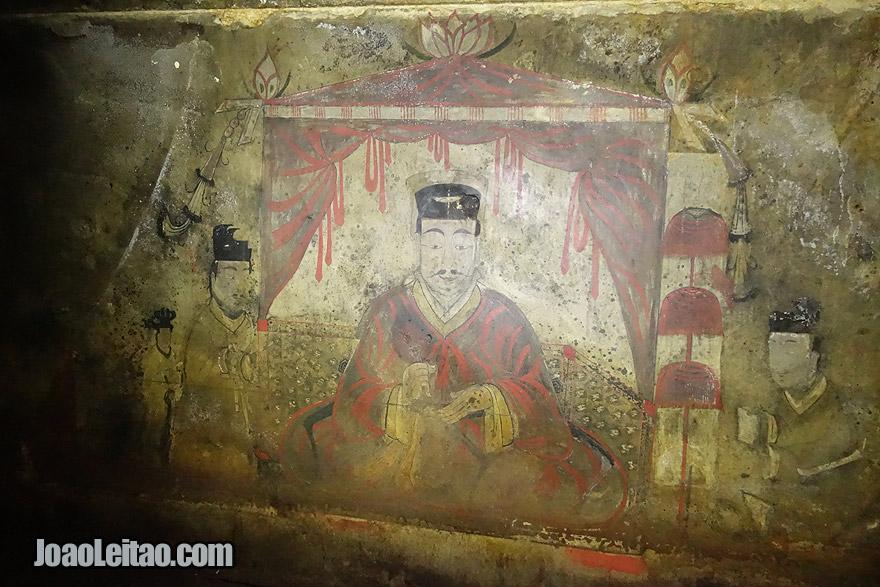 Visit Complex of Goguryeo Tombs, Democratic People's Republic of Korea