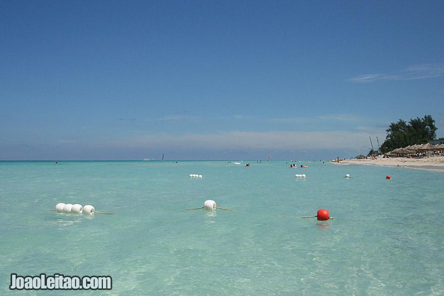 Varadero Beach crystal water and white sand