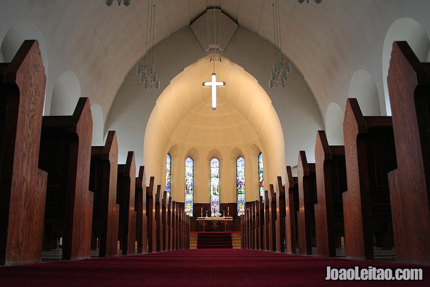 Akureyri Cathedral Northeastern Region Iceland