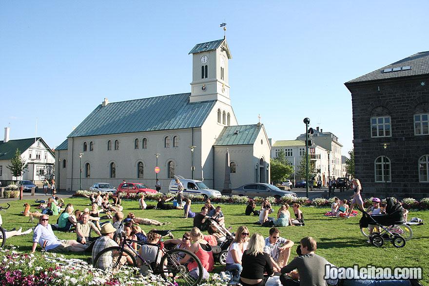 Visit Austurvollur Square in Reykjavik Capital Region Iceland