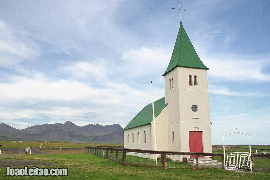 Visit Faskrudarbakki Church, Western Region Iceland