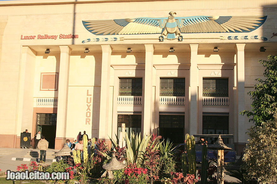 Luxor Railway Station in the East bank