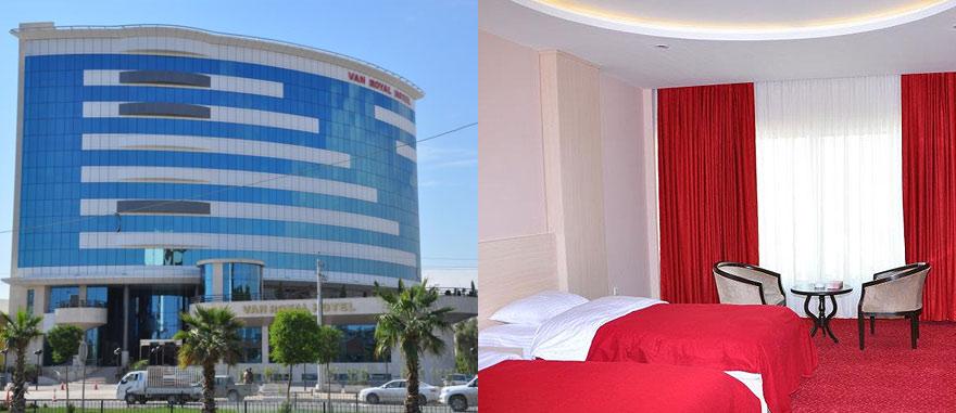 Van Royal Hotel in Erbil Northern Iraq