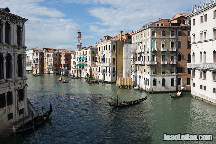 Venice Grand Canal beautiful view