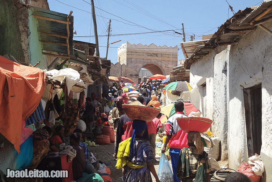 The Fortified Historic Town of Harar by day