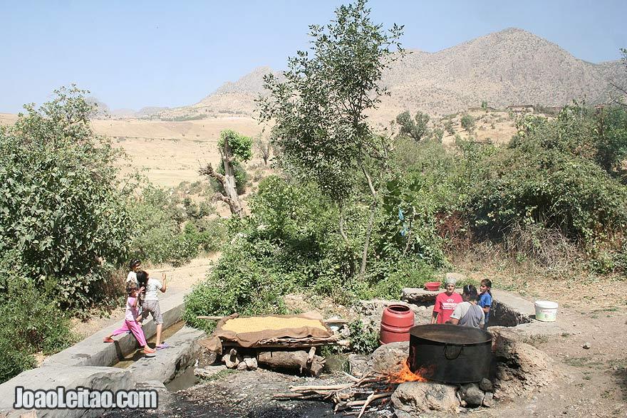 Kani Village in Iraqi Kurdistan