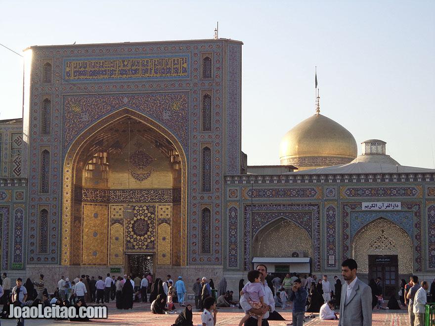 Imam Reza Mausoleum, in Mashhad - Iran
