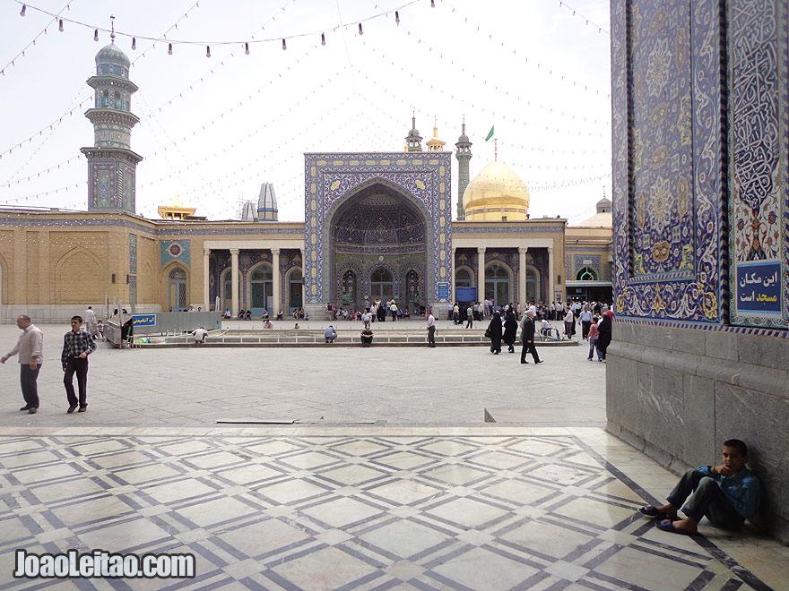 Fatima Masumeh Shrine in Qom, Iran