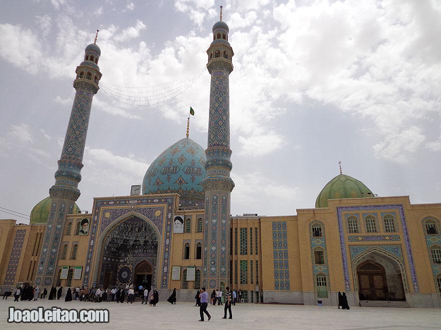 Jamkaran Mosque in Qom Iran Sacred and